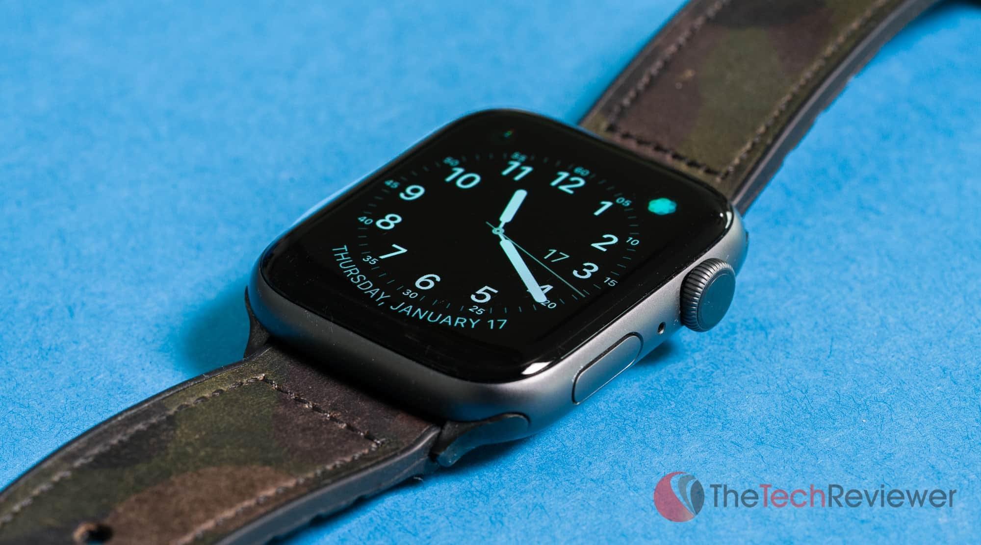 Apple Watch Series 4 Close Up