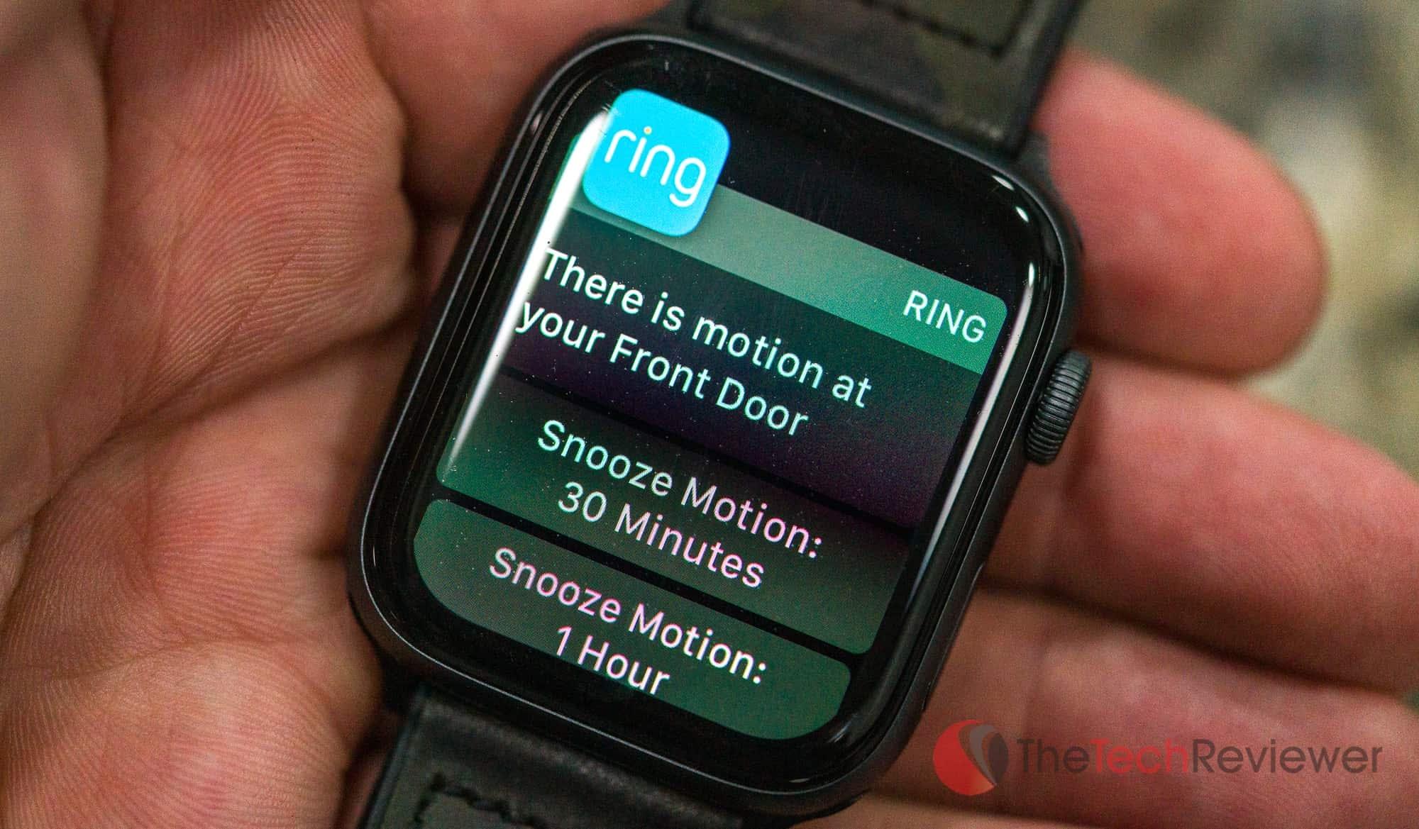 Apple Watch Ring Notification